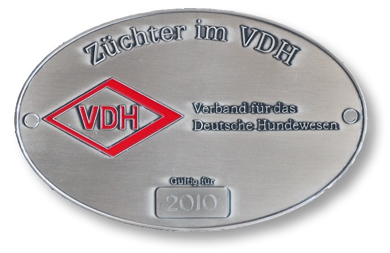 VDH Z�chterplakette 2010